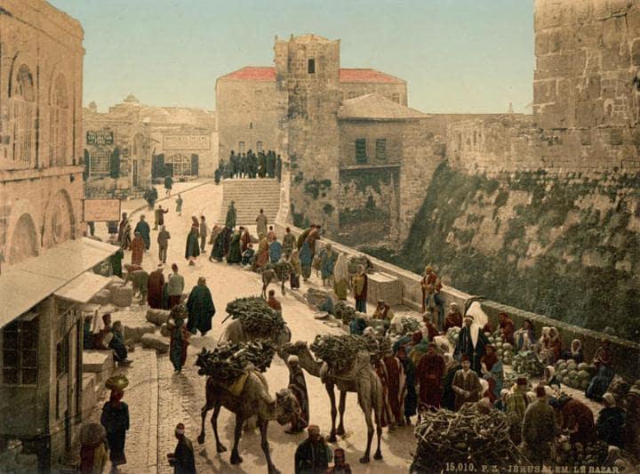 Les Premières Photos Couleur de la Palestine