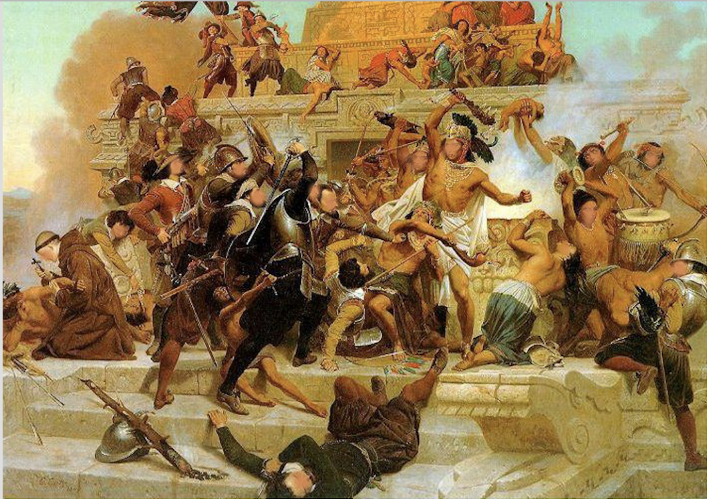 Les Conquistadores et la Guerre contre l'Islam